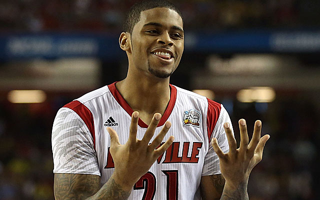 Colorado State's Chane Behanan scored 15 points for Louisville in the national title game in 2013. (Getty)
