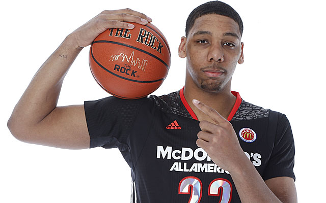 Center Jahlil Okafor may be the top pick in the 2015 NBA draft. (USATSI)