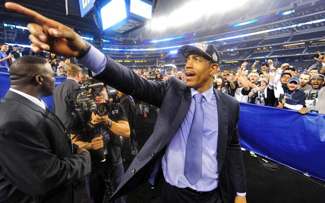 Kevin Ollie is a candidate for open NBA positions, but wants to stay at UConn.  (USATSI)