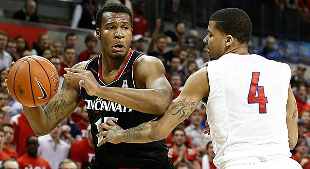 Physical with a deft perimeter touch, Jermaine Sanders could help Cincy next season. (USATSI)