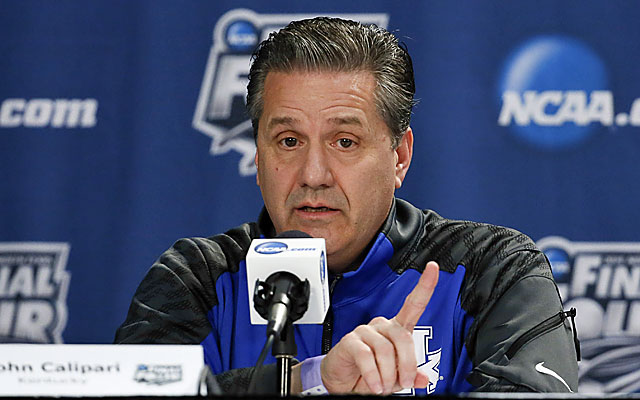 The public flirtation with the Cavs is a calculated and effective move by Coach Cal. (USATSI)
