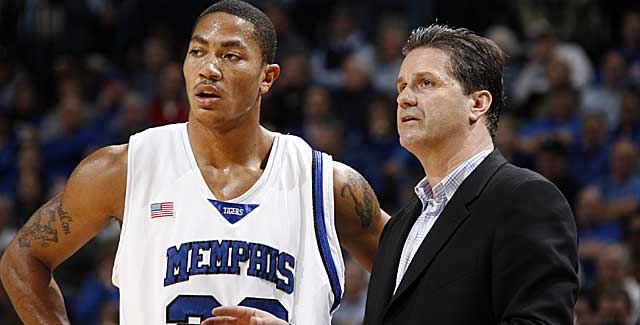 Before Kentucky, John Calipari coached Derrick Rose before Rose's NBA stardom. (Getty Images)