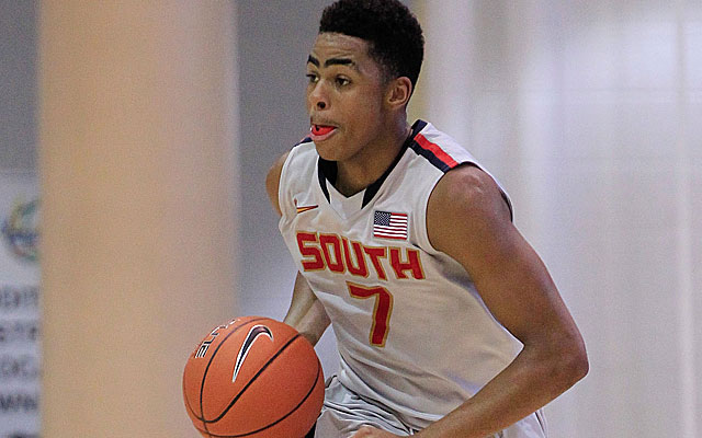D'Angelo Russell will play some point guard as well as 2-guard for Ohio State.  (USATSI)