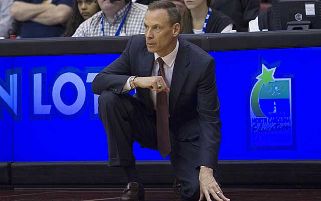 Charleston's president is urged to hire a minority to replace Doug Wojcik (above). (USATSI)