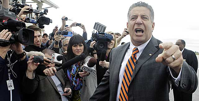 Bruce Pearl has hit the ground running since his show-cause penalty ended. (USATSI)