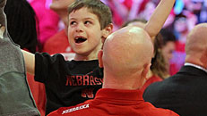 Coach's son fights leukemia
