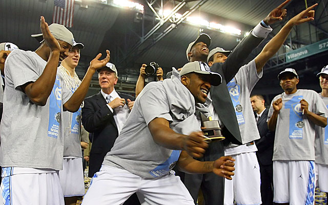 Might the Tar Heels have to return a championship trophy or two?  (Getty)