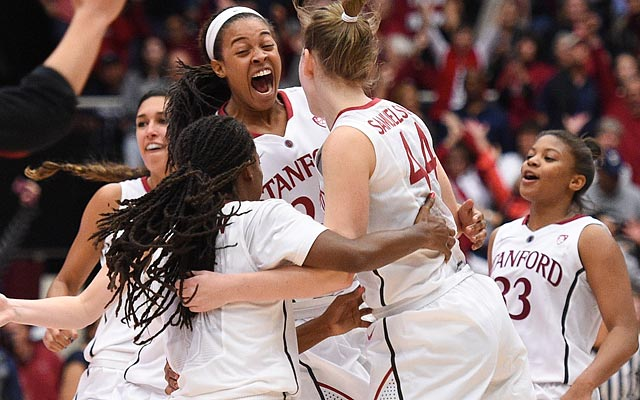 Stanford ends a lengthy UConn winning streak for the second time in four years. (USATSI)