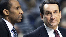 Coach K, Dawkins reunite