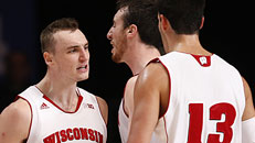 Badgers fight off Hoyas