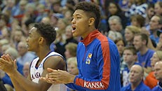 KU's Oubre staying patient