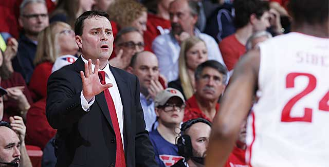'We're together. And I'm very proud of the players,' Dayton's Archie Miller says. (Getty Images)
