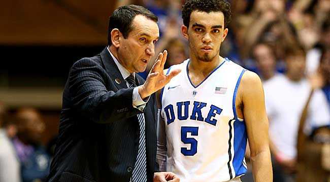 LIVE: Coach K goes for No. 1,000 at St. John's