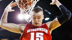 Night Court: Badgers hang on