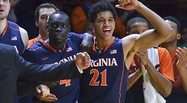 Night Court: UVA avoids awful loss at Va. Tech
