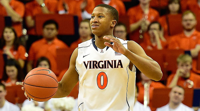 7 ET: Unbeaten Virginia takes on No. 4 Duke