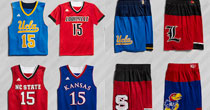 NCAA uniforms (screen shot)