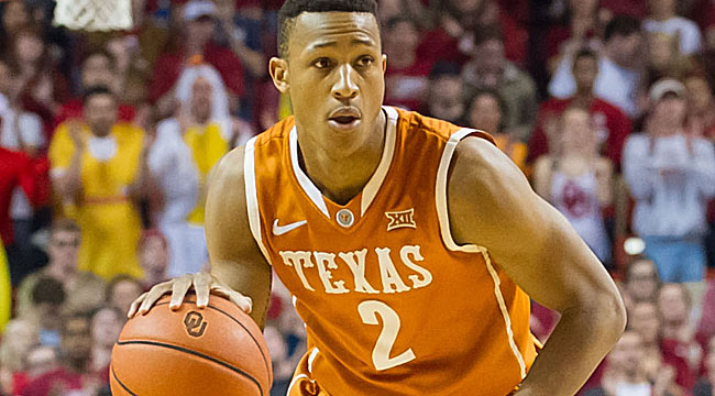 Upset watch: Longhorns lead Kansas at the half