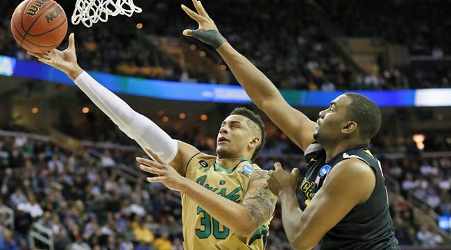 Watch live: Notre Dame leads Wichita (CBS)