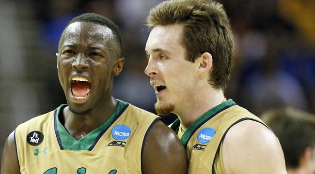 Notre Dame bounces Wichita State in Sweet 16