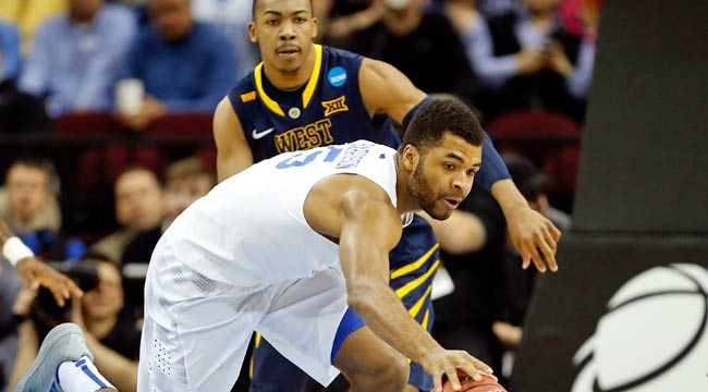 Watch live: Kentucky all over W. Virginia (CBS)