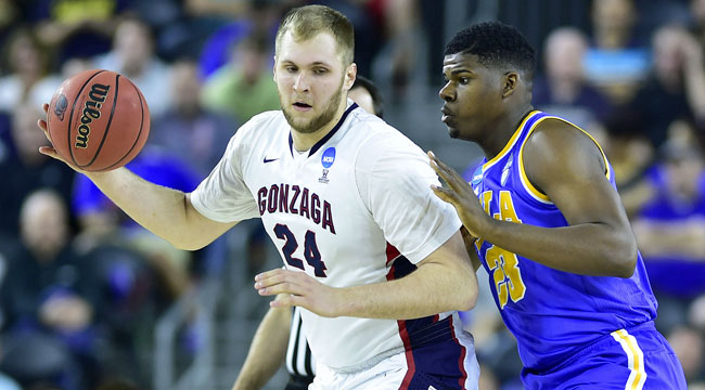 Watch live: Gonzaga rolling vs. UCLA (CBS)