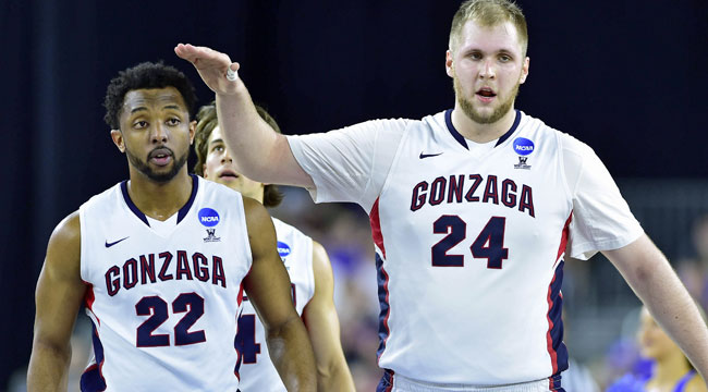 Gonzaga is moving on after taking down UCLA
