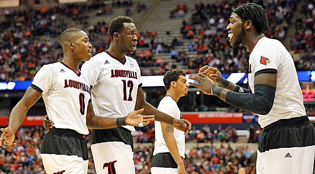 Louisville slips past NC State in East Region
