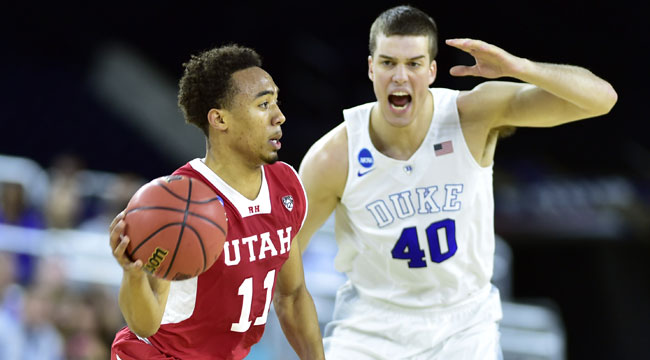 Duke holds off Utah, will take on Gonzaga next