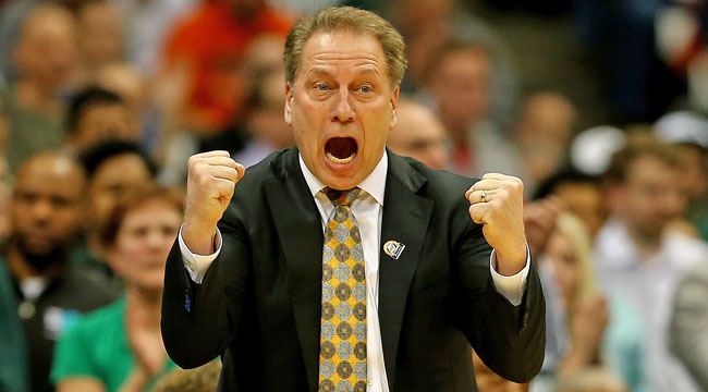 Patterson: Izzo vs. Pitino for Final Four bid