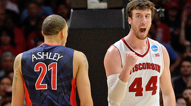 Wisconsin ousts Arizona (again), back in Final Four