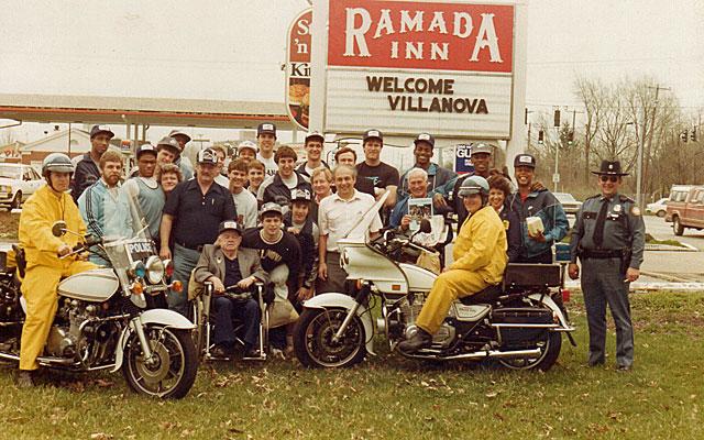 Villanova wasn't exactly a five-star team in 1985.  (Courtesy of Chuck Everson)