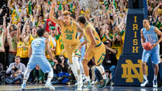 No. 2 UNC crashes at ND