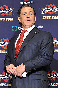 Owners, such as Cleveland's Dan Gilbert, have much to discuss in New York next week. (Getty Images)