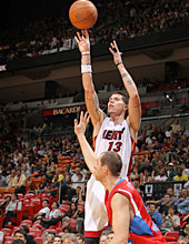 Mike Miller's 3-point shooting could space the floor in Miami. (Getty Images)