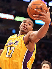 Andrew Bynum overcame injury to help the Lakers to title No. 16. (Getty Images)