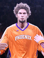 Robin Lopez's progress in his second year was promising for the Suns. (Getty Images)