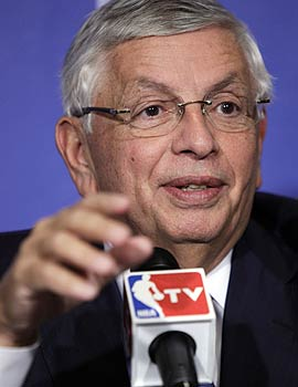 The contraction myth is particularly laughable, even by David Stern's standards. (AP)