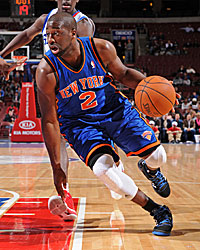 Raymond Felton is serviceable enough point man to get the Knicks to postseason play. (Getty Images)