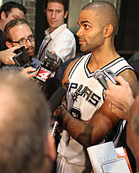 Questions surround Tony Parker during a contract year in San Antonio. (Getty Images)