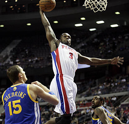 Rodney Stuckey blows off the carbon of his game-and-a-half benching with 21 points and nine dimes. (Getty Images)