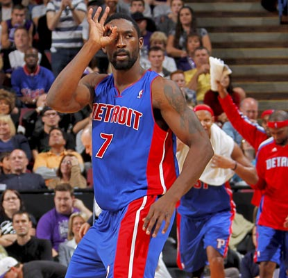 Ben Gordon lets the Kings and their fans know how many points his big shot late in the game is worth.  (Getty Images)