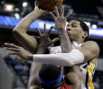 Danny Granger scores 22 for the Pacers, who shoot 51 percent despite missing key players. (AP)