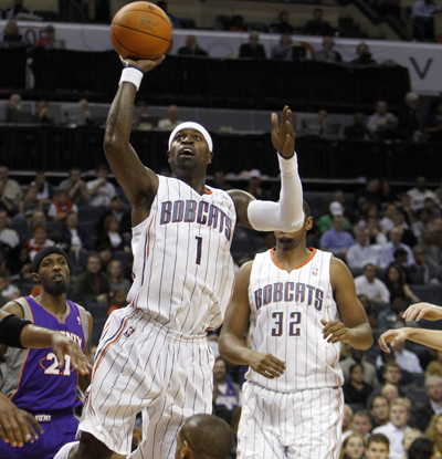 Stephen Jackson posts the first triple-double in Bobcats history with 24 points, 10 rebounds and 10 assists.  (AP)