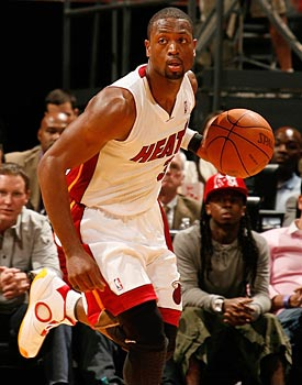 Dwyane Wade is 'the best open-court player in the history of the game' according to one coach. (Getty Images)