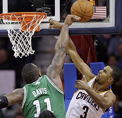 Big Baby's 17 points and 11 boards -- plus one big block -- are key in the Celtics' win. (AP)