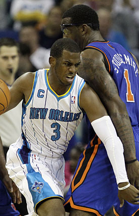 Chris Paul's value to the Hornets exceeds other MVP candidates' importance to their teams, including Amar'e Stoudemire. (AP)