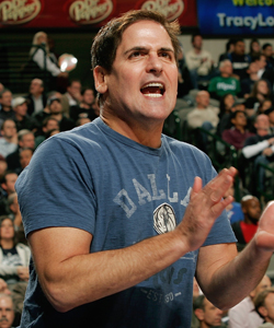 Mark Cuban says  labor uncertainty won't limit willingness to sign another big-money player. (Getty Images)