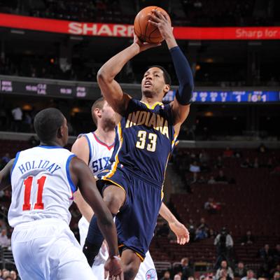 Danny Granger's 27 points help the Pacers celebrate their first road win since Nov. 30.   (Getty Images)