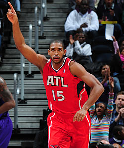 Al Horford on the Hawks' lack of respect: 'For now, we're just another team. We have to earn it.' (Getty Images)